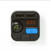 Αναμεταδότης FM/MP3/Handsfree Nedis CATR121BK Bluetooth